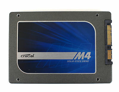 "Crucial M4 Solid State Drive SSD 2.5"" 256GB SATA 6Gb/s"