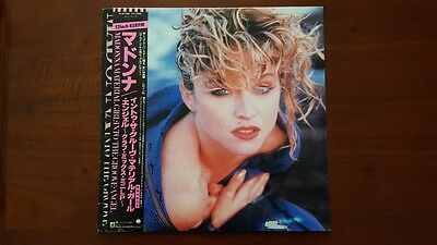 "Madonna Material Girl Angel Into The Groove 12"" Japan P-5199 VG+ Rebel Heart"