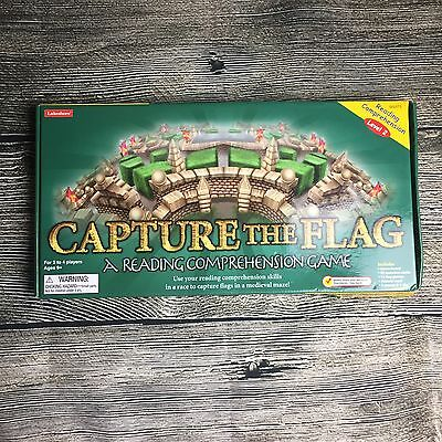 Capture the Flag Reading Comprehension Level 2 Board Game Lakeshore