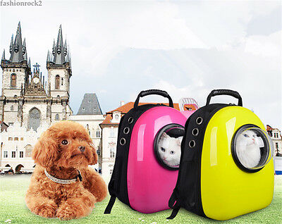 New Pet Carrier Back Pack Small Cat Dog Outdoor Travel Bag Airline Pet Carrier