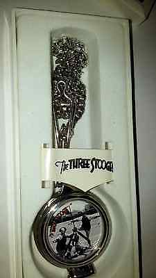three stooges 1998 pocket watch