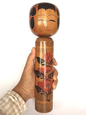 30cm Large Kokeshi Japanese Antique Doll No.RN610