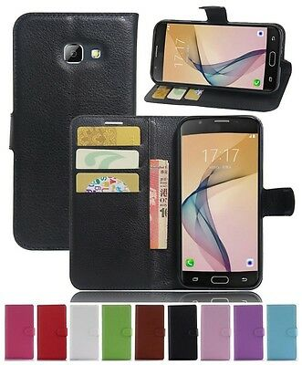 Wallet Leather Flip Case Cover For Samsung Galaxy A5 2017 A520 Genuine AuSeller