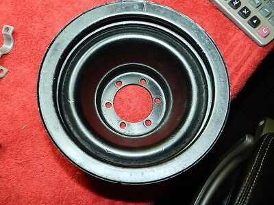 clean 4 groove crank pulley 383/440 w/air 68/69/70/71/72 fury/satellite/charger.