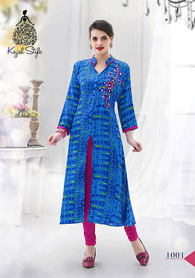Us Seller Women Indian/bollywood Kurti/kurta/tunic/top Long Ethnic 2Xl/44, Party