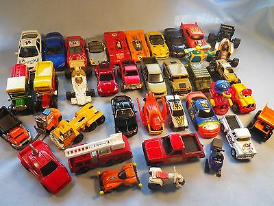 Car Toys Die Cast Junk Drawer Lot Huge LOT! Lots of Pics Assorted Scales & Makes
