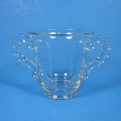 Imperial Glass CANDLEWICK Open Sugar Bowl Clear