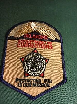 Oklahoma Department of Corrections Patch