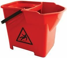 MOP BUCKET, HEAVY DUTY,  RED VZ.MB.16/R - SYSSI16626 By BENTLEY