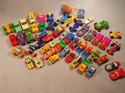 Kinder Surprise, MPG, Disney Pixar and assorted mini vehicles lot GIANT LOT LOOK