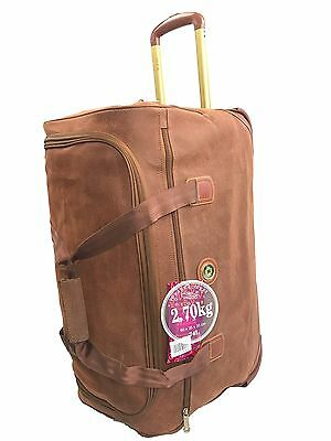 Duffle bag voyager 2 wheels strong material 74l