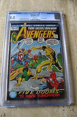 MARVEL Comic: AVENGERS Number 101 - July 1972. Certified 8.0 in Sealed Case