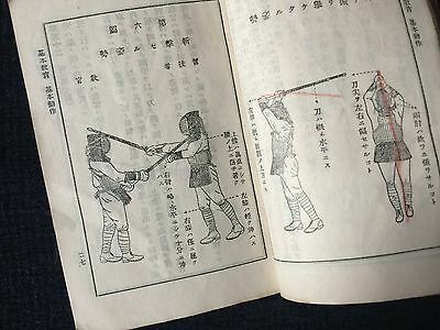 WWII Japanese Army soldier Training Book Model of Bayonet Kendo Kenjutsu 1934
