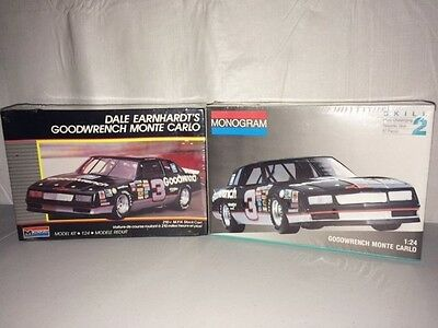 Monogram 2900 Dale Earnhardt Goodwrench Chevy Monte Carlo NASCAR 1:24 Model Kits