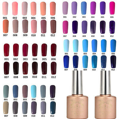 60 Color Esmalte De Uñas Soak Off LED UV Gel Permanente Manicura Top Nail Polish