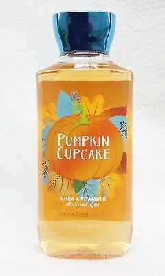 1 Bath & Body Works PUMPKIN CUPCAKE Shea Shower Gel Body Wash 10 oz New