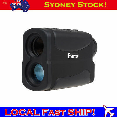 6*25 700m/Yd Golf Laser Range Finder Rangefinder Distance Meter Speed Measurer B