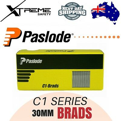 Paslode Pneumatic C1 Series Brands Nails 3000Pcs Galvanised - 30 x 1.2mm