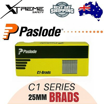 Paslode Pneumatic C1 Series Brands Nails 3000Pcs Galvanised - 25 x 1.2mm
