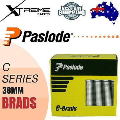 Paslode Pneumatic C Brands Nails 3000Pcs Galvanised - 38 x 1.6 mm