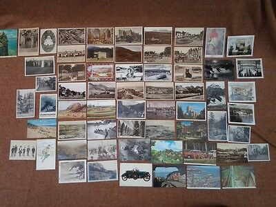 Group lot 65  B/W & colour, vintage postcards and some photographs,1930-60's.