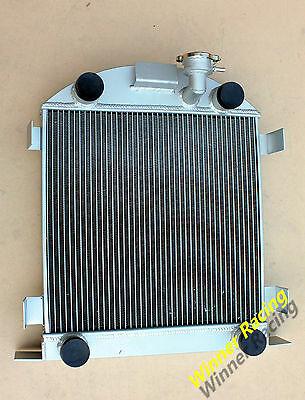 70mm aluminum radiator Ford Lowboy chopped w/flathead V8 engine 1932-1939 1938