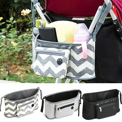Universal Baby Trolley Useful Storage Bag Stroller Cup Pram Organizer Playful BY