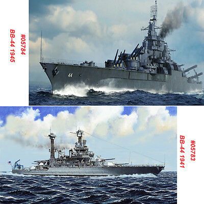 Trumpeter 05783 05784 1/700 Scale USS California BB-44 1941/1945 Warship Model