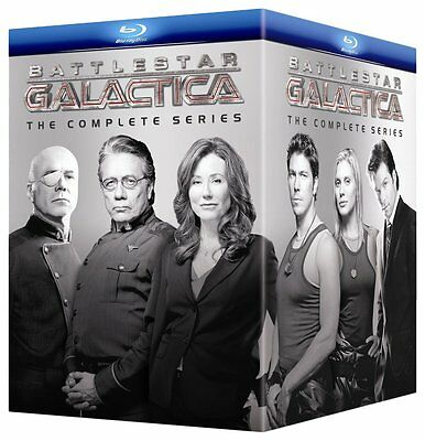 Battlestar Galactica The Complete Series Blu-Ray Single Disc Replacement FS !