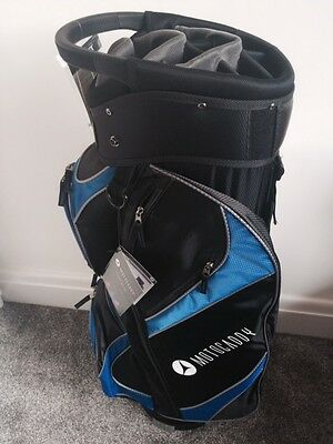 MOTOCADDY 2017 LITE-SERIES CART/TROLLEY GOLF BAG Colour BLACK/BLUE NEW