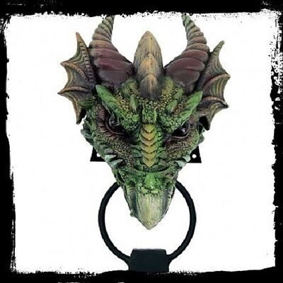 Dragon Door Knocker - Gothic - Pagan Dragon