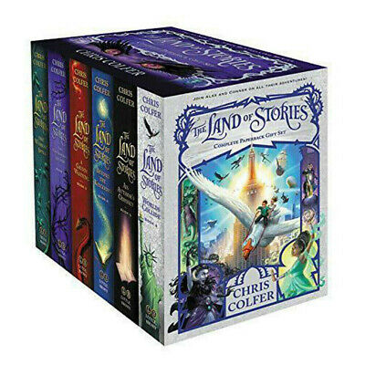 Chris Colfer Land of Stories Collection 1-5 Books collection set Wishing Spell