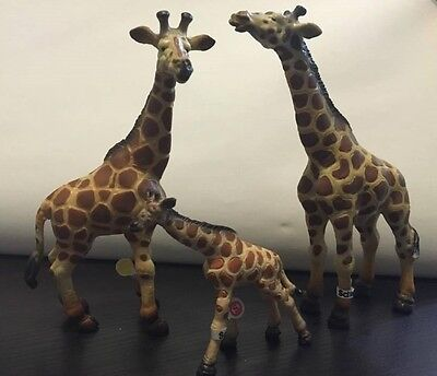 Retired Schleich Giraffe Giraffes Family 14099 14028 14147 animal figure Color A