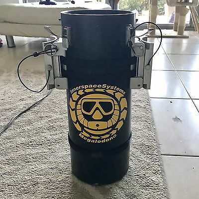 ISC Megalodon Apecs 2.7 Rebreather CCR w/ Fourth Cell Kit