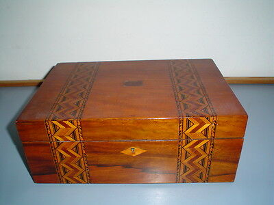Antique Timber writing box