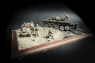 El Alamein 'the inspection' -  Built Diorama 1/35