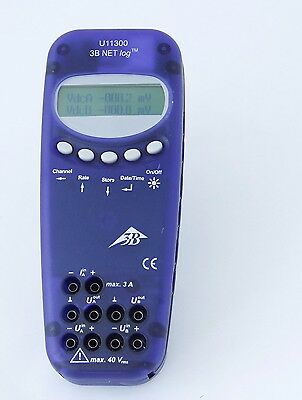 3B Scientific U11300 NET log Datenlogger PC Multimeter 12 bit 50kHz kein Fluke