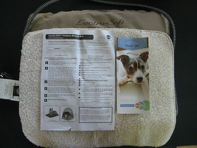 """K&H Lectro-Soft Heated Pet Bed, Indoor & Outdoor, Small Dog Cat, 14"""" x 18"""", NOP"""