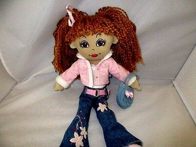 "Friends 2B Made Doll 15"" Clothes Shoes Pink Corduroy Lot A40"