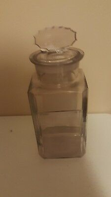 Vintage gum counter jar with coca cola pepsin gum lid