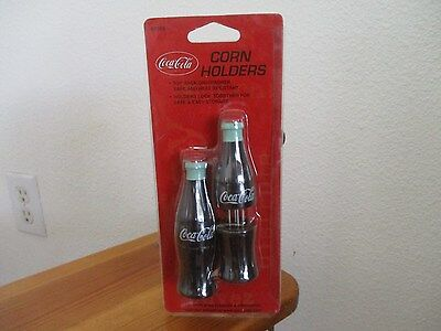 Vintage Coca Cola Corn on the Cob Holders New Factory Sealed Package