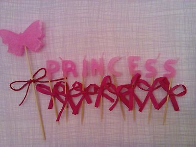 Birthday Letter Candles-bright pink