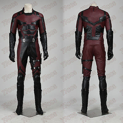 Daredevil Matthew Michael Murdock Cosplay Costume Outfit Custom Made All Size