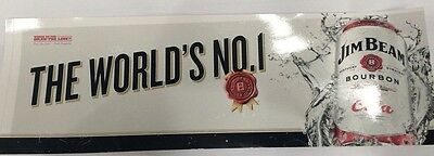 jim beam white label sticker - worlds best