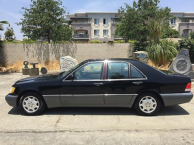 1995 Mercedes-Benz S-Class LUXURY 1-OWNER SOUTHERN CALIFORNIA GARAGE KEPT LOW MILEAGE AMAZING CONDITION BEAUTY