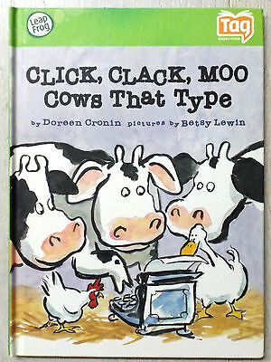Leapfrog Tag - Click Clack Moo - Cows That Type Book