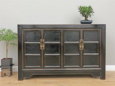 Antikes Sideboard chinesische Kommode Buffet TV Möbel Massivholz China Y271