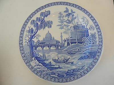 Rome Design Dinner Plate by Spode Blue Room Collection