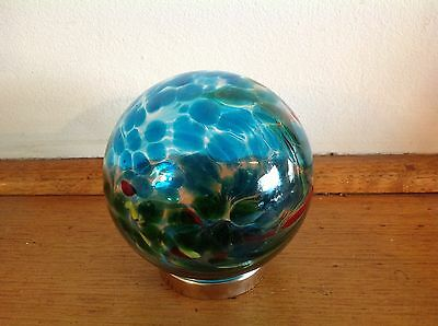 Hand blown Glass Friendship Ball  best friend or good friend gift no79