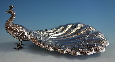 Gorham-Durgin Sterling Silver Peacock Candy Dish #3 (#1547)